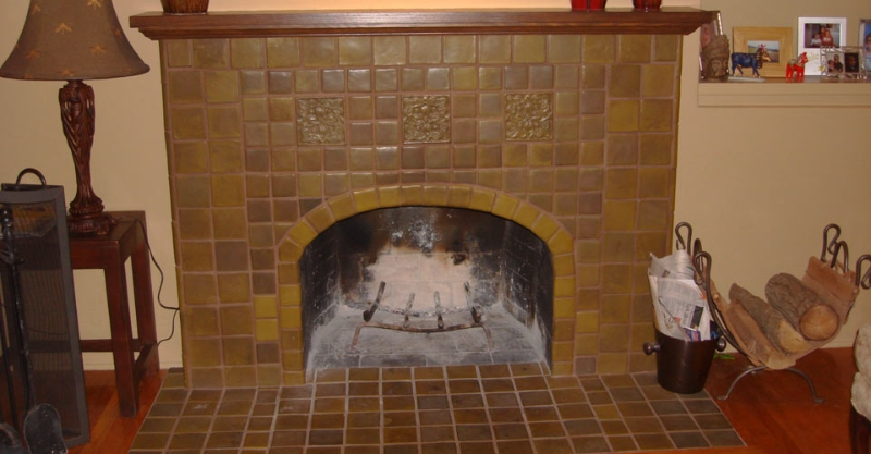 Tile Fireplaces Authentic Fireplaces Inc Authentic